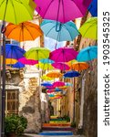 Typical Narrow Street With...