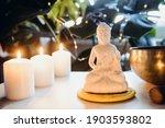 Decorative White Buddha...