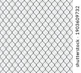 seamless chain link fence...   Shutterstock .eps vector #1903609732