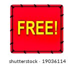 free tag | Shutterstock . vector #19036114