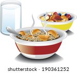 illustration of a complete... | Shutterstock .eps vector #190361252