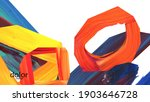 abstract vector background with ... | Shutterstock .eps vector #1903646728