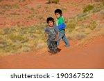Monument Valley Arizona April...