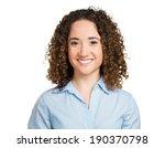 closeup headshot portrait ... | Shutterstock . vector #190370798