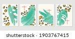 summer tropical wall arts... | Shutterstock .eps vector #1903767415