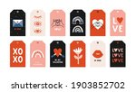 hand drawn vector collection of ... | Shutterstock .eps vector #1903852702