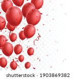celebration banner with red... | Shutterstock .eps vector #1903869382