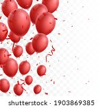 celebration banner with red... | Shutterstock . vector #1903869385