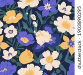 elegant seamless floral pattern ...   Shutterstock .eps vector #1903890295