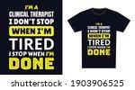 clinical therapist t shirt...   Shutterstock .eps vector #1903906525