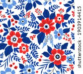 beautiful floral pattern in... | Shutterstock .eps vector #1903914415