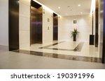 modern lobby   Shutterstock . vector #190391996
