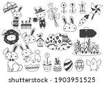easter vector illustration for... | Shutterstock .eps vector #1903951525