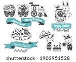 easter vector illustration for... | Shutterstock .eps vector #1903951528