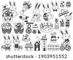 easter vector illustration for... | Shutterstock .eps vector #1903951552