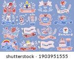 valentine illustration vector... | Shutterstock .eps vector #1903951555