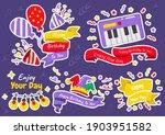 party label vector logo for... | Shutterstock .eps vector #1903951582