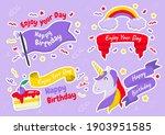 party label vector logo for... | Shutterstock .eps vector #1903951585