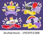 party label vector logo for... | Shutterstock .eps vector #1903951588