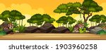 nature outdoor landscape scene... | Shutterstock .eps vector #1903960258