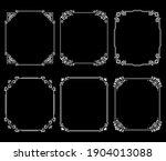set of decorative frames...   Shutterstock .eps vector #1904013088