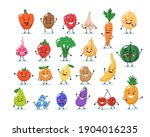 fruits and vegetables...   Shutterstock . vector #1904016235