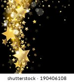 star on a black background | Shutterstock .eps vector #190406108