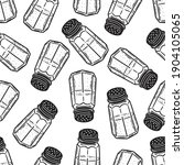 seamless pattern salt sugar...   Shutterstock .eps vector #1904105065