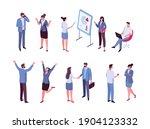 isomeric business people vector ...   Shutterstock .eps vector #1904123332