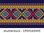 geometric ethnic pattern design ...   Shutterstock .eps vector #1904163445