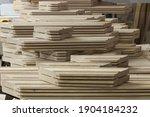 details of oak furniture... | Shutterstock . vector #1904184232