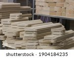 solid wood oak parts are... | Shutterstock . vector #1904184235