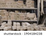 blanks for the manufacture of... | Shutterstock . vector #1904184238