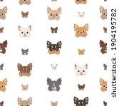 Chihuahua Seamless Pattern. Dog ...