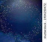 magic night dark blue sky with... | Shutterstock .eps vector #1904250472