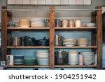 Kitchenware With Dishware...