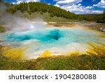 The Imperial Geyser And Hot...
