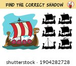 viking ship. find the correct... | Shutterstock .eps vector #1904282728