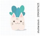 hand drawn vector illustration... | Shutterstock .eps vector #1904337625