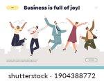 business success concept of...   Shutterstock .eps vector #1904388772