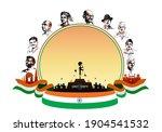 vector illustration of indian...   Shutterstock .eps vector #1904541532