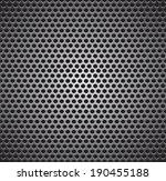 black seamless texture vector... | Shutterstock .eps vector #190455188