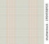 plaid pattern glen in grey ... | Shutterstock .eps vector #1904558935