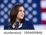 Small photo of America,10 Jan 2021: This picture shows Vice president of America Kamala Harris