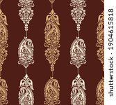 traditional asian paisley... | Shutterstock .eps vector #1904615818