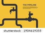 web banner template. industrial ... | Shutterstock .eps vector #1904619355