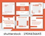 abstract template post for... | Shutterstock .eps vector #1904656645