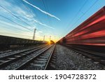 Train Moves By Rail  Delivery...