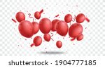 celebration banner with red... | Shutterstock .eps vector #1904777185