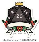 sticker of a natural 20... | Shutterstock .eps vector #1904800465